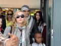 Мадонна з сім'єю в Лондоні