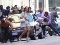 Дженніфер Лопес на зйомках кліпу