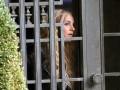 Бритни Спирс на съемках своего клипа «Criminal»