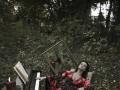 Татьяна Денисова сменила имидж в лесу