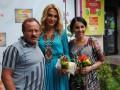 Ольга Сумська й Світлана Вольнова провели майстер-клас з приготування кави.
