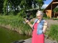 Глубоко беременная Таня Пискарева отправилась на рыбалку