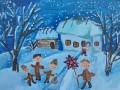 На концертах Табакова буде аукціон різдвяних картин вихованців центру «Джерело»