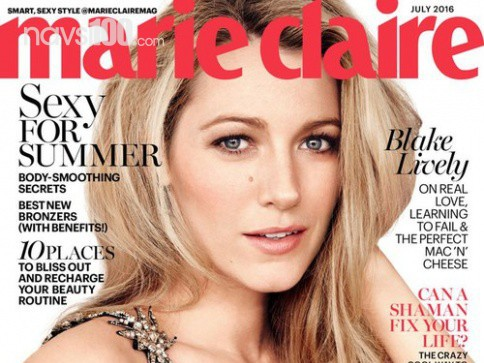 ����� ������ � ������� Marie Claire, ���� 2016