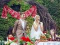 Астаф'єва відірвалася під Сердючку на весіллі Нікітіна з Горбачовою