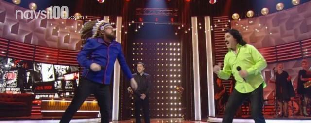 Борода против усов: Дзидзьо и Зибров поборолись в рэп-баттле