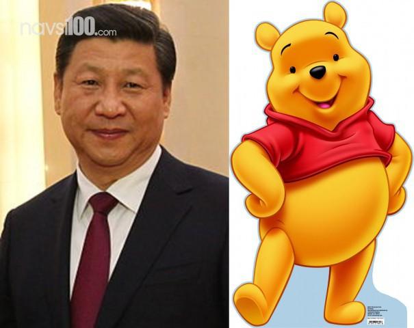 Вінні Пуха забанили в соцмережах Китаю