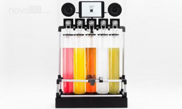 Японці винайшли пристрій, що перетворює музику на напої