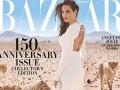 Анджелина Джоли снялась в уникальной фотосессии к 150-летию модного глянца