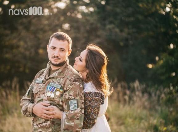 Наталка Карпа записала песню с мужем - героем АТО