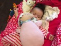 Гайтана впервые показала дочь на телевидении