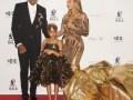 Бейонсе появилась на аукционе в эффектном платье