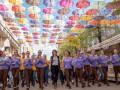 РЕКОРД! Флешмоб української співачки об'єднав понад 1000 учасників у Кропивницькому